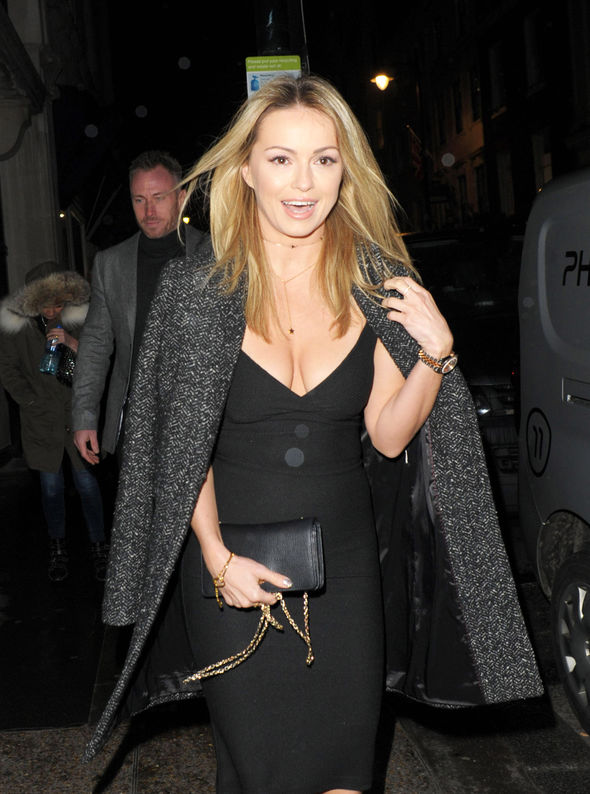 Ola Jordan showcased her ample assets