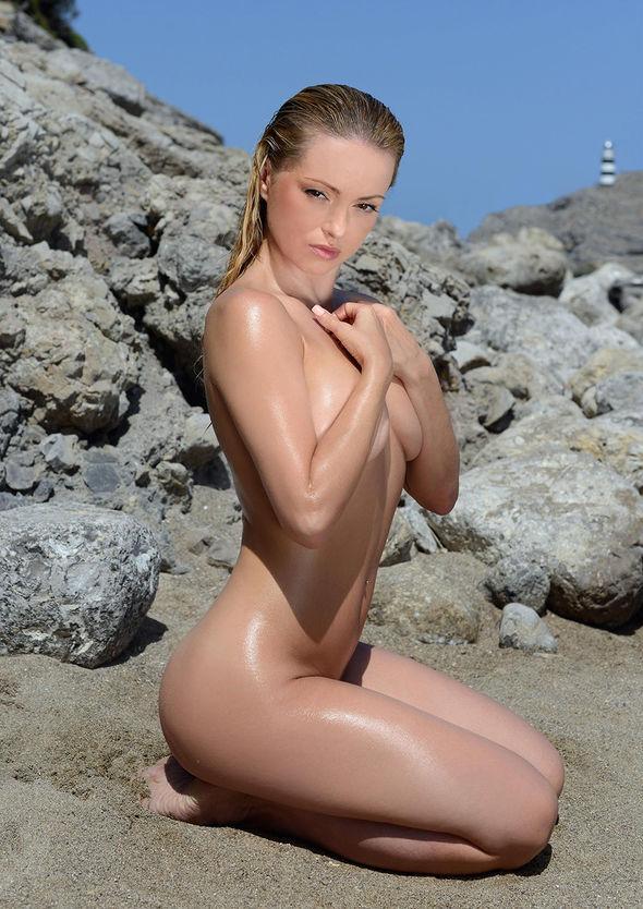 Ola Jordan bares all as she poses completely NAKED for