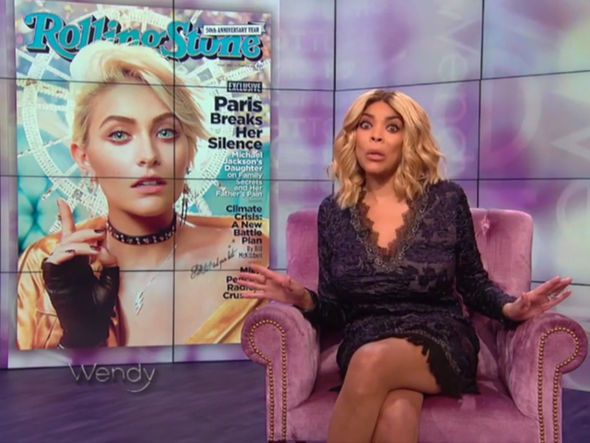 Paris Jackson Wendy Williams Rolling Stone black girl