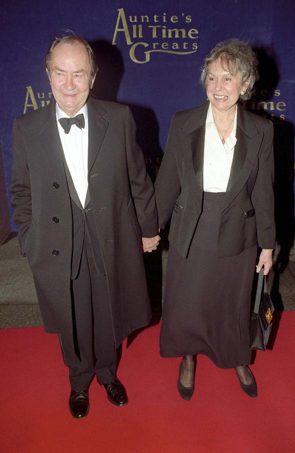 Peter Sallis wife Elaine