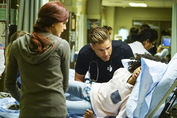 Rob Lowe stars in the medical drama Code Black