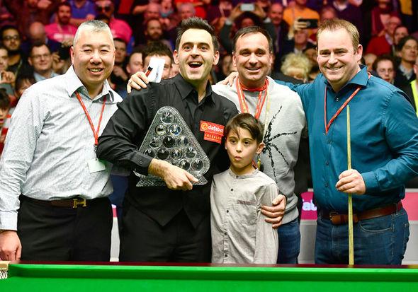 Ronnie O'Sullivan Masters American Hustle History wins