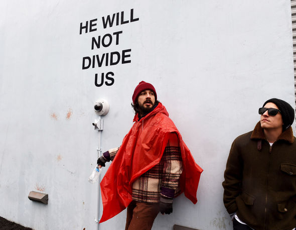 Shia LaBeouf has set up a 4-year protest