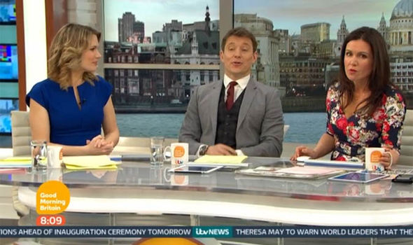 Good Morning Britain host Susanna Reid was not happy with the troll