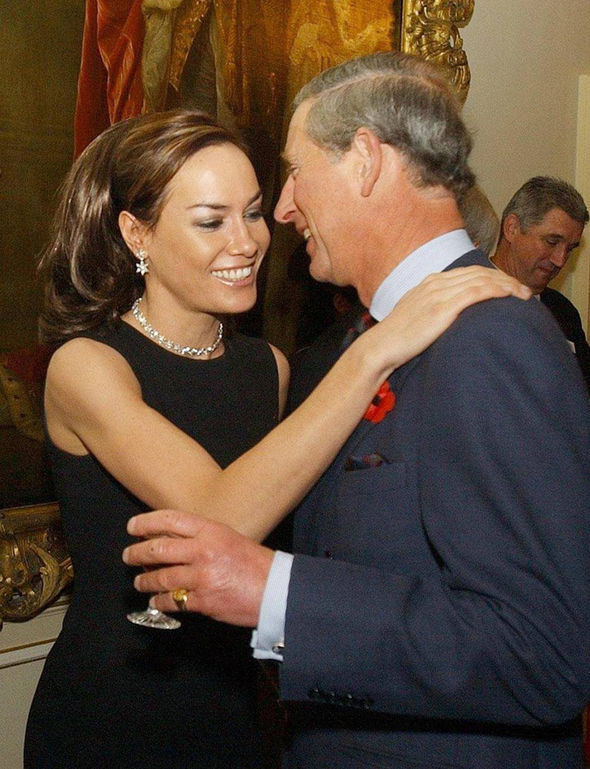 Tara Palmer-Tomkinson's god-father Prince Charles