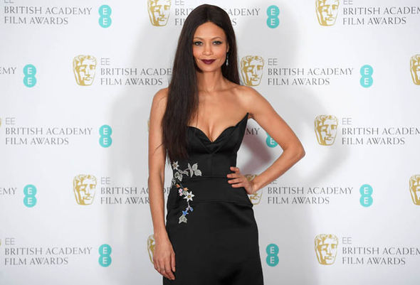 Thandie Newton at the BAFTAs 2017