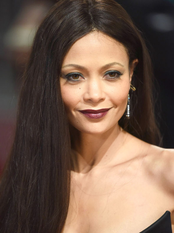 Thandie Newton chose a busty number for the BAFTAs 2017 red carpet