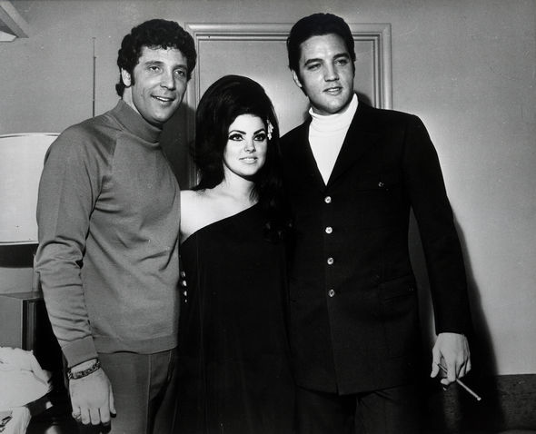 The trio were good friends and pictured in 1968