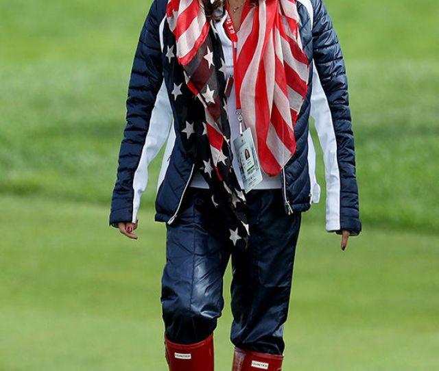 Tiger Woods Girlfriend The Open Erica Herman