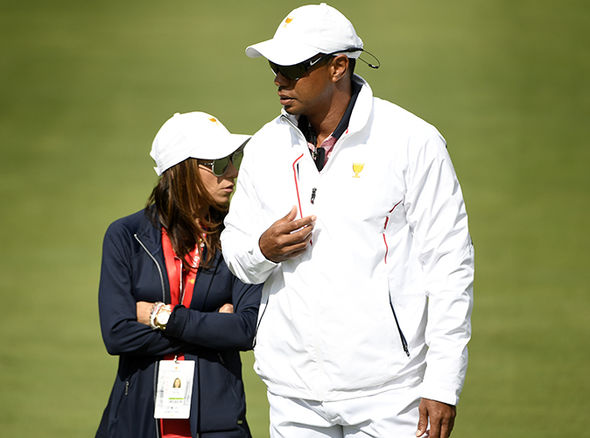 tiger woods tee time at the british open