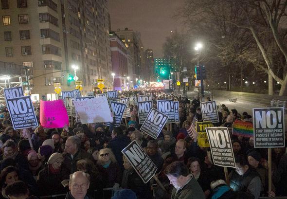Trump inauguration Alec Baldwin protest SNL impression video