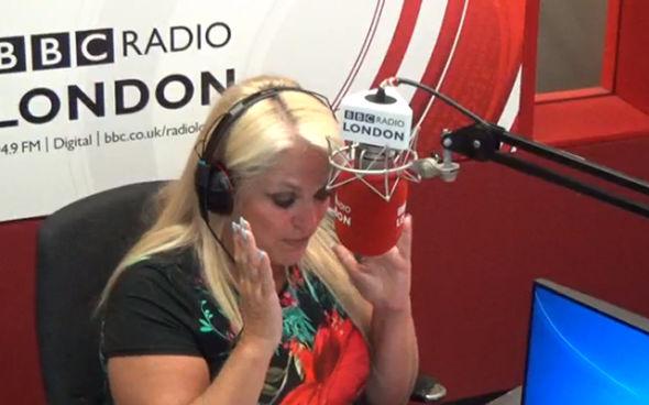 Vanessa Feltz on radio