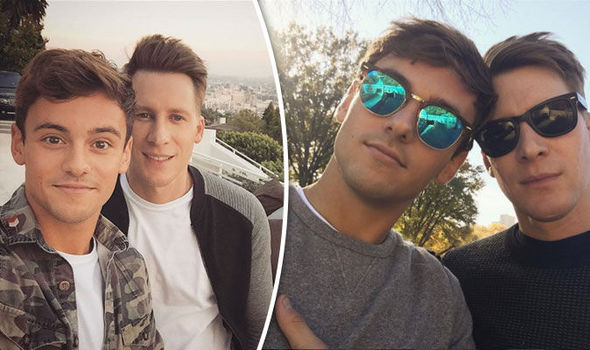 Tom Daley has confessed to fiancé Dustin Lance that he had cyber sex with another man