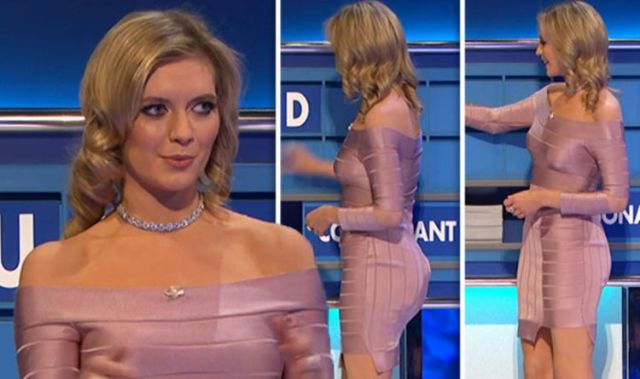 Rachel Riley Countdown Presenter Shows Off Unbelievable Talent In Figure Hugging Dress Entertainment News