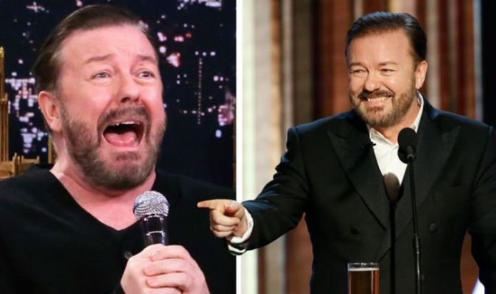 Ricky Gervais sends message to fearful Hollywood stars ahead of Golden Globes: 'Relax'