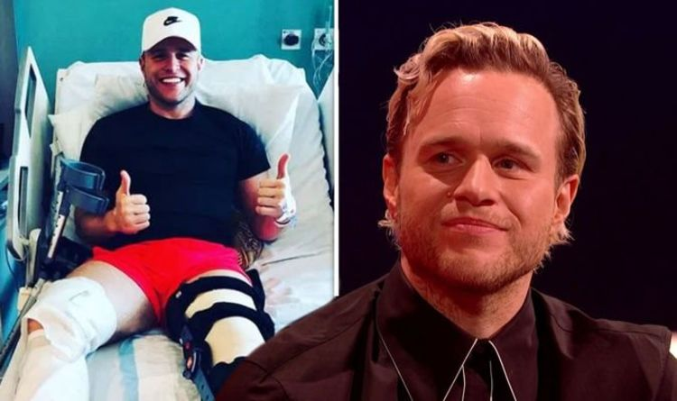 Olly Murs says he's in a two-year rehab after leaving 'complicated' injury 'I regret it'