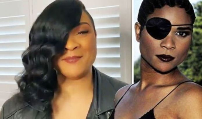 Gabrielle eye patch: Why does Gabrielle cover her eye? Star brands patch her 'saviour'