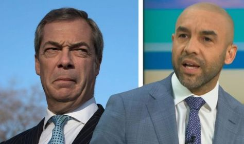 Alex Beresford calls out Nigel Farage after he attempts to link Bristol riots to BLM