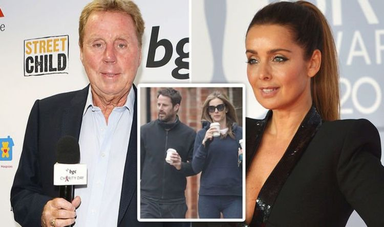 Harry Redknapp's thoughtful gesture to Jamie's ex Louise as he refuses to discuss romance
