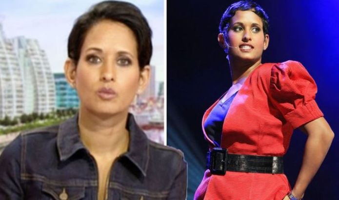 Naga Munchetty issues warning as guest interrupts her in error: 'Be careful what you say!'