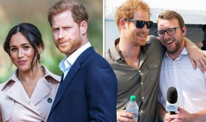 Prince Harry 'will continue to serve the UK' insists pal and Strictly star JJ Chalmers