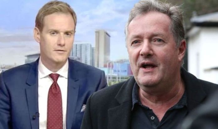 Dan Walker is 'a nasty piece of work fighting to get out', Piers Morgan swipes at rival