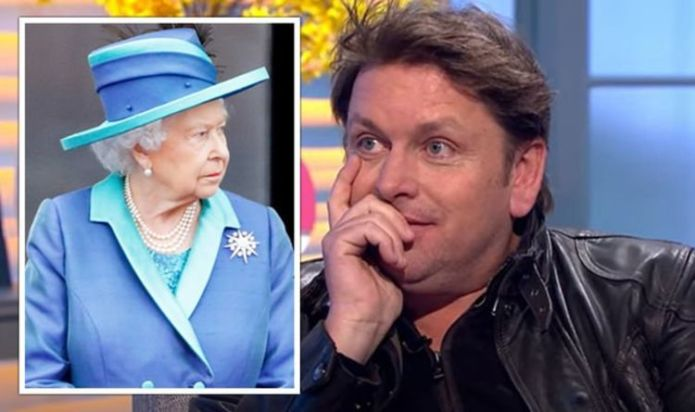 James Martin says 'Jamie Oliver and Gordon Ramsay were busy' amid Queen's 'error'