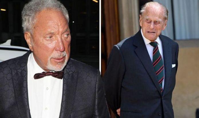 Tom Jones addresses Prince Philip's apology after the Duke's 'gargle with pebbles' swipe