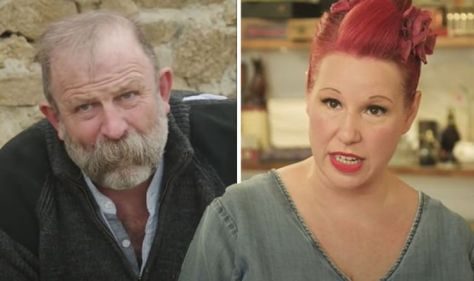 'Does my head in' Angel Adoree details 'tricky' part to chateau life with Dick Strawbridge