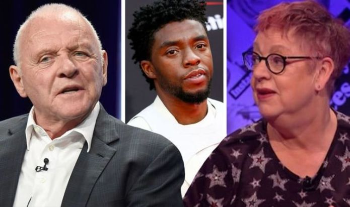 'Chadwick Boseman was robbed' Jo Brand left 'disappointed' over Anthony Hopkins Oscar win
