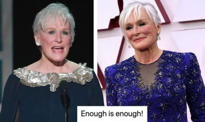 Glenn Close fans rage over Oscar snubs ahead of 2021 ceremony: 'Enough is enough!'