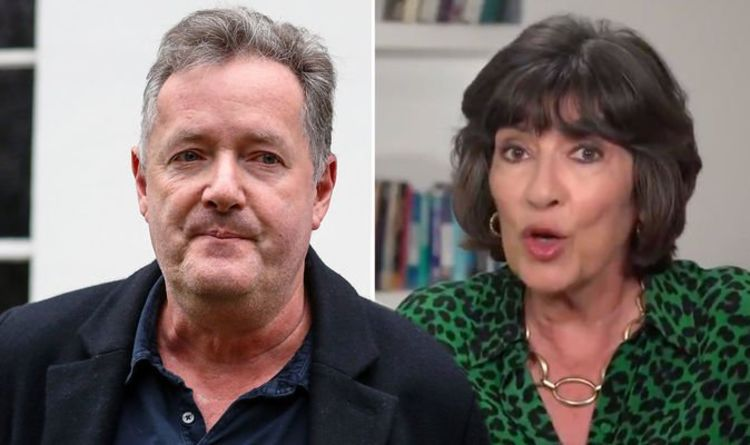 Piers Morgan reaches out to Christiane Amanpour as she announces cancer battle live on air