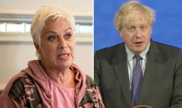 Denise Welch slams 'utterly spineless' Boris after Freedom Day delay 'Not fit for purpose'