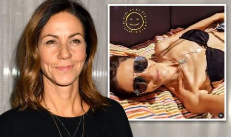 Julia Bradbury fires back at claims she's too skinny after bikini pictures raise eyebrows