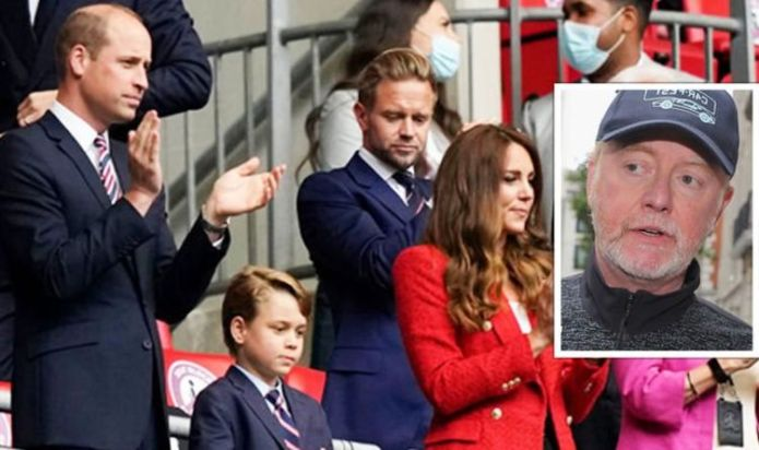 Prince William and Kate Middleton's 'weird' Euro 2020 appearance called out by Chris Evans