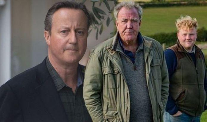 Clarkson's Farm's Kaleb Cooper admits snubbing David Cameron as former PM left starstruck