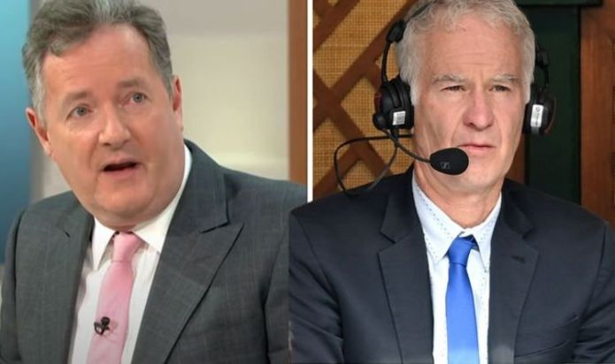 'McEnroe told truth!' Piers Morgan defends Raducanu comments 'she couldn't take pressure'