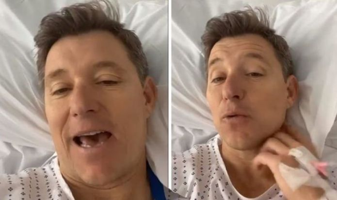 Ben Shephard: GMB presenter says he has 'long, slow' recovery ahead in hospital bed update
