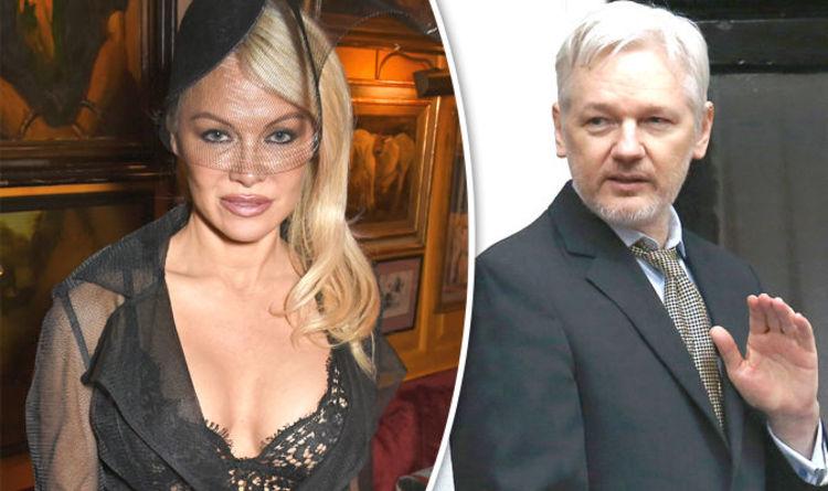 Julian Assange Finally Addresses Pamela Anderson Dating