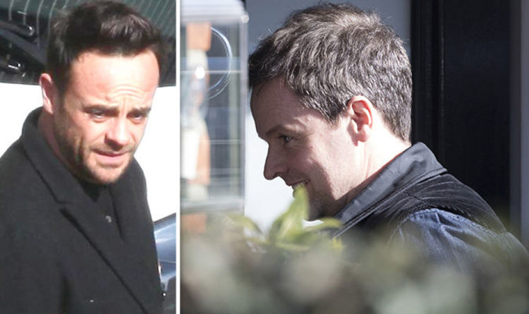 Ant Mcpartlin News Declan Donnelly Visits Co Star After