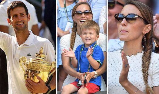 Novak Djokovic wife Jelena gushes over Wimbledon 2018 ...