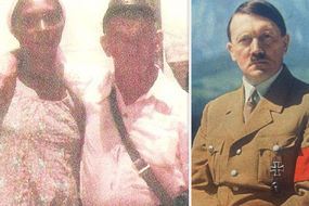 The INCREDIBLE picture that 'proves' Adolf Hitler lived to 95 with his Brazilian lover