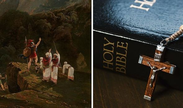 The Book of Joshua tells of a miracle