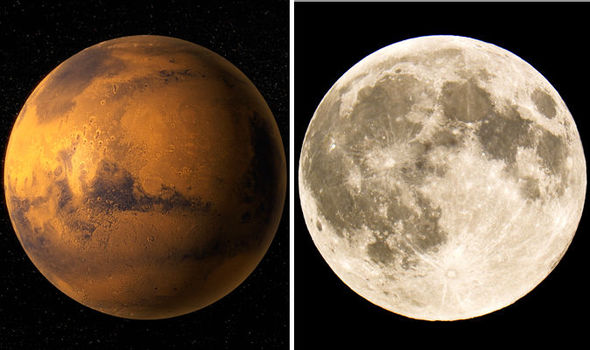 Image result for Mars makes closest approach to Earth in 15 years