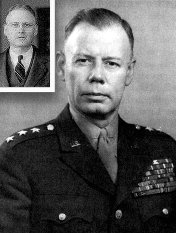 Il memo e Stato Quello di Generale Walter Bedell Smith da H Marshall Chadwell (nel Riquadro).