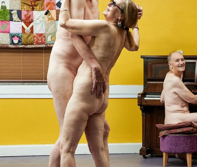 My Wife Asked Me To Do It Pensioners Strip Off Naked For