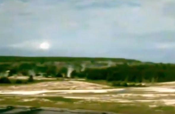 ufo yellowstone