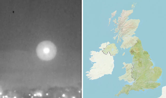 Is This Incredible Unseen Video PROOF That Aliens HAVE Visited Britain Weird News Express