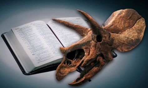 Dinosaur 'missing link' puts a major dent in theory of evolution, claims Bible expert