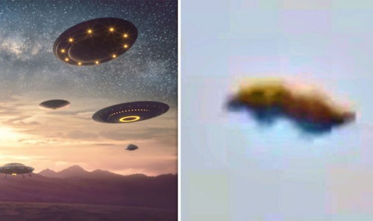 UFO sighted over London as conspiracy theorists hail 'exciting' video